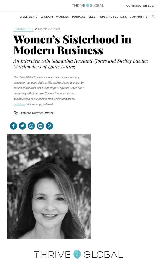 Interview with Ignite Dating matchmakers Shelley Lawlor and Sam Rowland-Jones